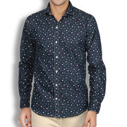 Branded Denim Cotton Shirt_Gkds08 - Multicolor
