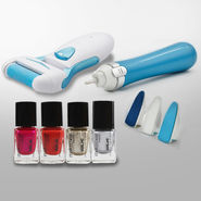 Electronic Nail Care System+ Personal Pedi Callus Remover with Extra Head