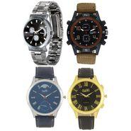 Fidato Pack of 4 Watches For Men_Fdmwc02