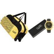 Fidato Combo of 1 Watch For Men + 1 Duffle Bag_Fdwc109