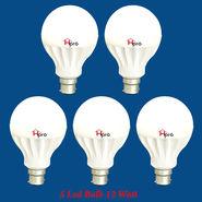 Home Pro Combo Of 5 Led Bulb 12 Watt