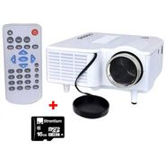 Combo of UC 28 Plus Mini LED Projector + 16 GB Memory Card