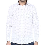Crosscreek Full Sleeves Cotton Shirt For Men_1060311 - White