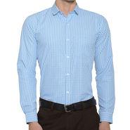 Being Fab Checks Shirt For Men_Bfwdc109 - White & Green