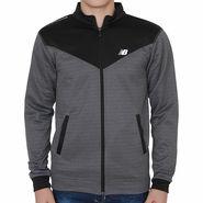 Slim Fit Jacket For Men_Nbblack - Black & Grey