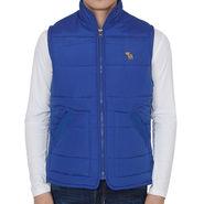 Slim Fit Jacket For Men_A&frblue - Royal Blue