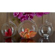 Hanging  Glass Ball Set Of 3 Pcs-1309-0156H