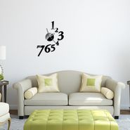 DIY Wall Clock 3D Sticker -1547B
