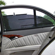 Set of 4Pcs Car Automatic Side Window Sun Shade For Jazz