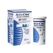 Accu-Chek-Advantage Sensor Comfort Test Strips (50 Strips) - Combo Of 5