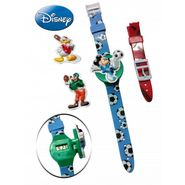 Disney Mickey & Frnds Baseball Watch with Interchangeable Straps &Fliptop covers