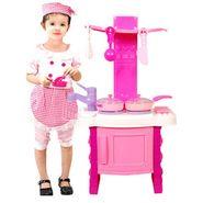 Kids Kitchen Playset -Pink