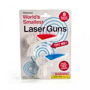 World's Smallest Laser Gun Pair Light and Music
