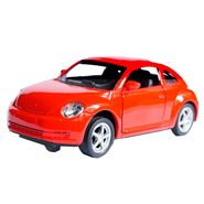 1:32 Scale Red Die-Cast Collectible Pullback Toy Car Model