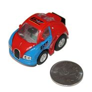 Adraxx Stunt Parkour Fly Mini RC Car Toy - Red
