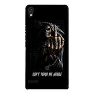Snooky Digital Print Hard Back Case Cover For Huawei Ascend P6 Td12043