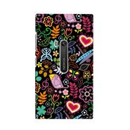 Snooky Digital Print Hard Back Case Cover For Nokia Lumia 920 Td12624