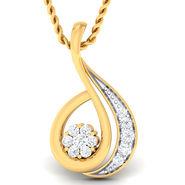 Kiara Sterling Silver Uttar Pradesh Pendant_5224P