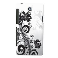 Snooky Digital Print Hard Back Case Cover For Sony Xperia T Lt30p Td12814