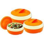 Princeware Solar Casserole Set Of 3-Orange_7023-3PLOR