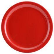 6 Pc Rnd Dinner Plate Set - Red