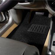 Autofurnish Anti Skid Curly Car Foot Mats (Black) Universal