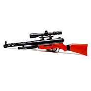 Kids M40 Sniper Air Shot Gun with Focus Lens, Laser Target - Assorted
