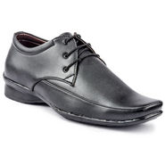 Kohinoor Footwears Faux Leather Formal Shoes BB05_Black