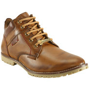 Bacca Bucci Faux Leather  Brown Boots -Bbma2118C