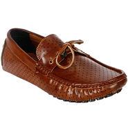 Bacca Bucci PU Tan Loafers -Bbmc4045D