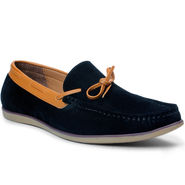 Bacca Bucci Suede Leather Black Loafers -Bbmc4062A
