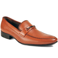 Bacca Bucci Artificial Leather Brown Formal Shoes -Bbmf7327C