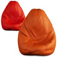Storyathome Set of 2 Bean Bag Chair Covers XL Without Beans-BB_1412-1415-XL