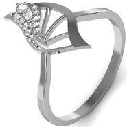 Avsar Real Gold & Swarovski Stone Kinjal Ring_B036wb