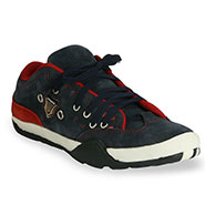 Bacca bucci Leather Casual Shoes - Blue & Red
