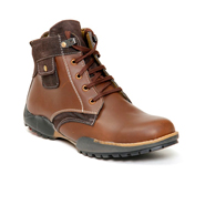 Bacca bucci Leather Boots - Brown-5537
