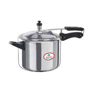 Bajaj Majesty 2Ltr Aluminium Inner Lid Pressure Cooker - Silver