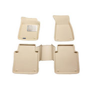 Branded 3D Car Bucket Tray Footmat For Eartiga - Beige