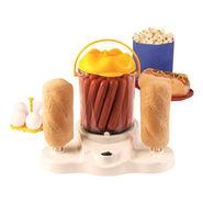4-In-1 Potato/Chicken Sausage/ Hot Dog Cooker - White