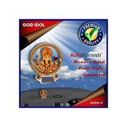Branded God Idol Ganesh Ji Dashboard Wooden Hand Craft Style