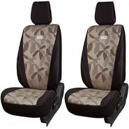 Branded Printed Car Seat Cover for Chevrolet Aveo U-VA - Brown