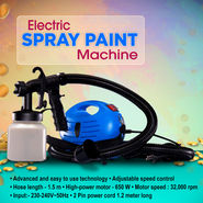 Branded Electric Spray Paint Machine - AKSO