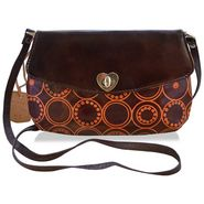 Arpera Genuine Leather Sling Bag C11517-2 -Brown