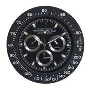 Chronograph Style Analog Wall Clock