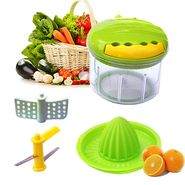 2 in 1 Veggie Cutter & Hand Juicer