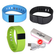 Callmate Fitness Band With Free Power Bank