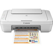 Canon PIXMA MG2570 Multifunction Inkjet Printer - White