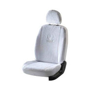 Car Towel Seat Covers for Hyundai old Verna - White