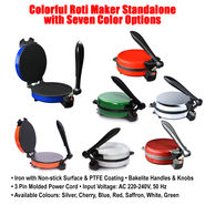 Colorful Roti Maker Standalone with Seven Color Options
