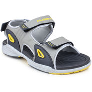 Columbus Synthetic Leather Grey & Yellow Floater -AB-933